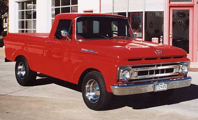 Ford Pickup Truck Air Conditioning Ford Pickup Trucks Pickup