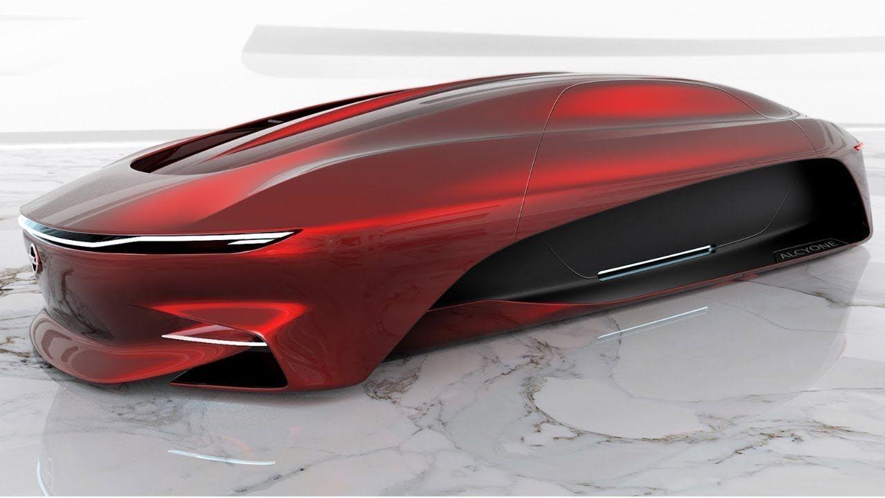 Opel Alcyone 2050 Concept Car Design Sketch Concept Cars Car Design