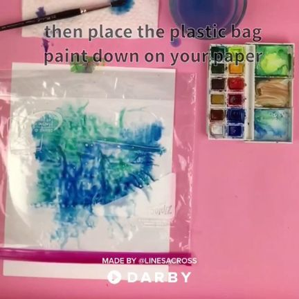How To Make The Perfect Watercolor Background Darbysmart Diy