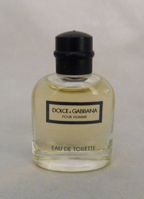 487bf693580f14 VTG DOLCE   GABBBANA MINIATURE EDT POUR HOMME FOR MEN MOSTLY FULL 1 ...