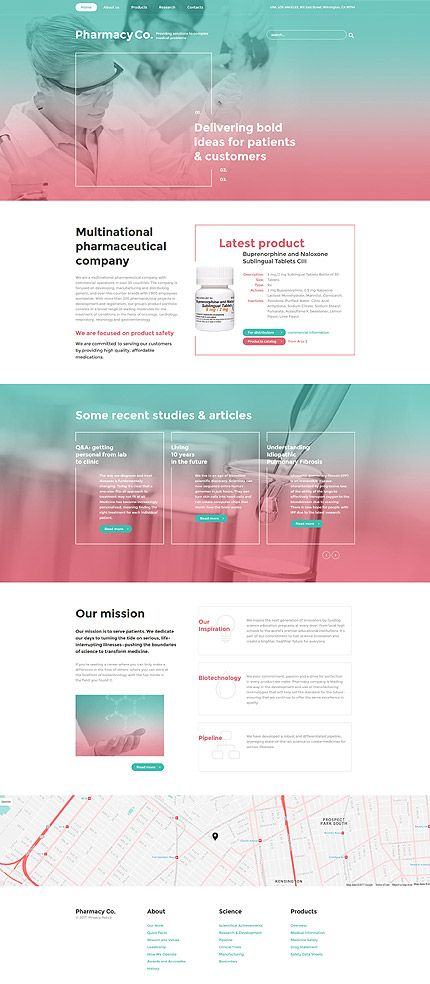 Medical Most Popular Bootstrap Template 58933 Medical
