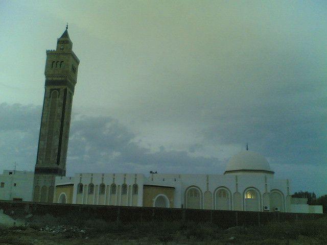 جامع الصفاء حمام الشط تونس Islamic Architecture Ferry Building San Francisco Mosque