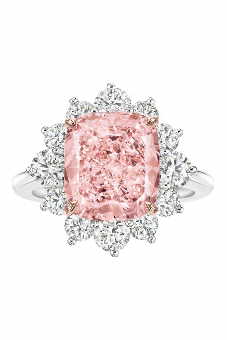 Harry Winston Pink Diamond Ring #diamondrings   Diamond Rings in ...