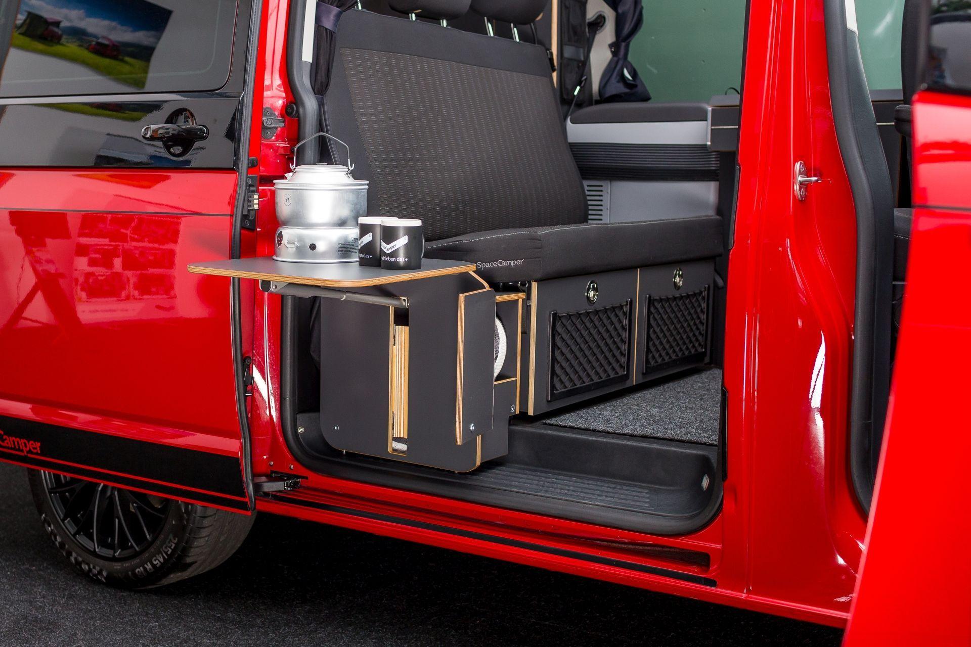 Ausstattungsoption Anzeigen Der Spacecamper Vw T6 Camping Ausbau Reisemobil Wohnmobil Campingbus Und Alltagsfahrzeug In Darmstadt Campingbus