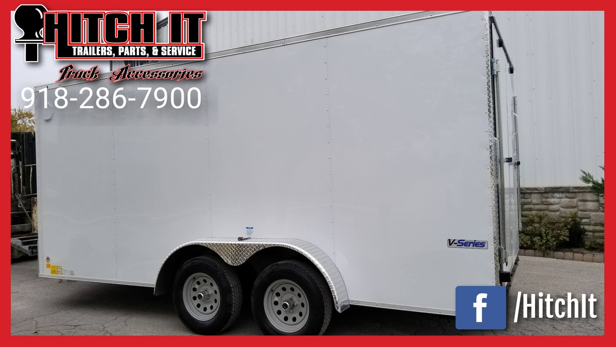 7 x 16 CONTINENTAL CARGO Hitch It Trailers Sales, Parts