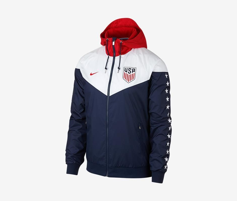educar Cereza rima  USA Windrunner Jacket | Ropa