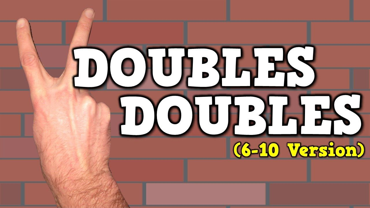 Doubles Doubles I Can Add Doubles 6 10 Version 6 6 12
