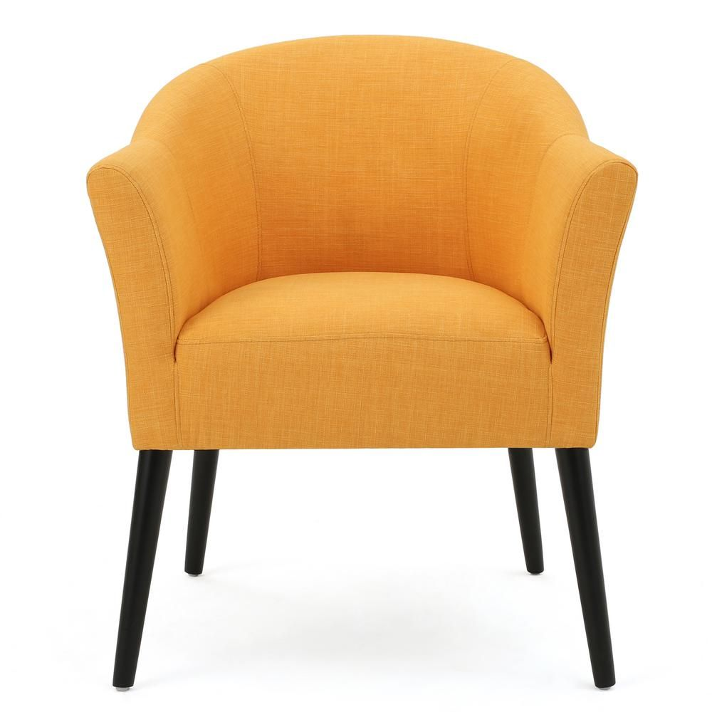 Swell Cosette Orange Fabric Armchair In 2019 Products Fabric Machost Co Dining Chair Design Ideas Machostcouk