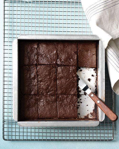 200-calorie Fudge Brownies - sweet potato puree!
