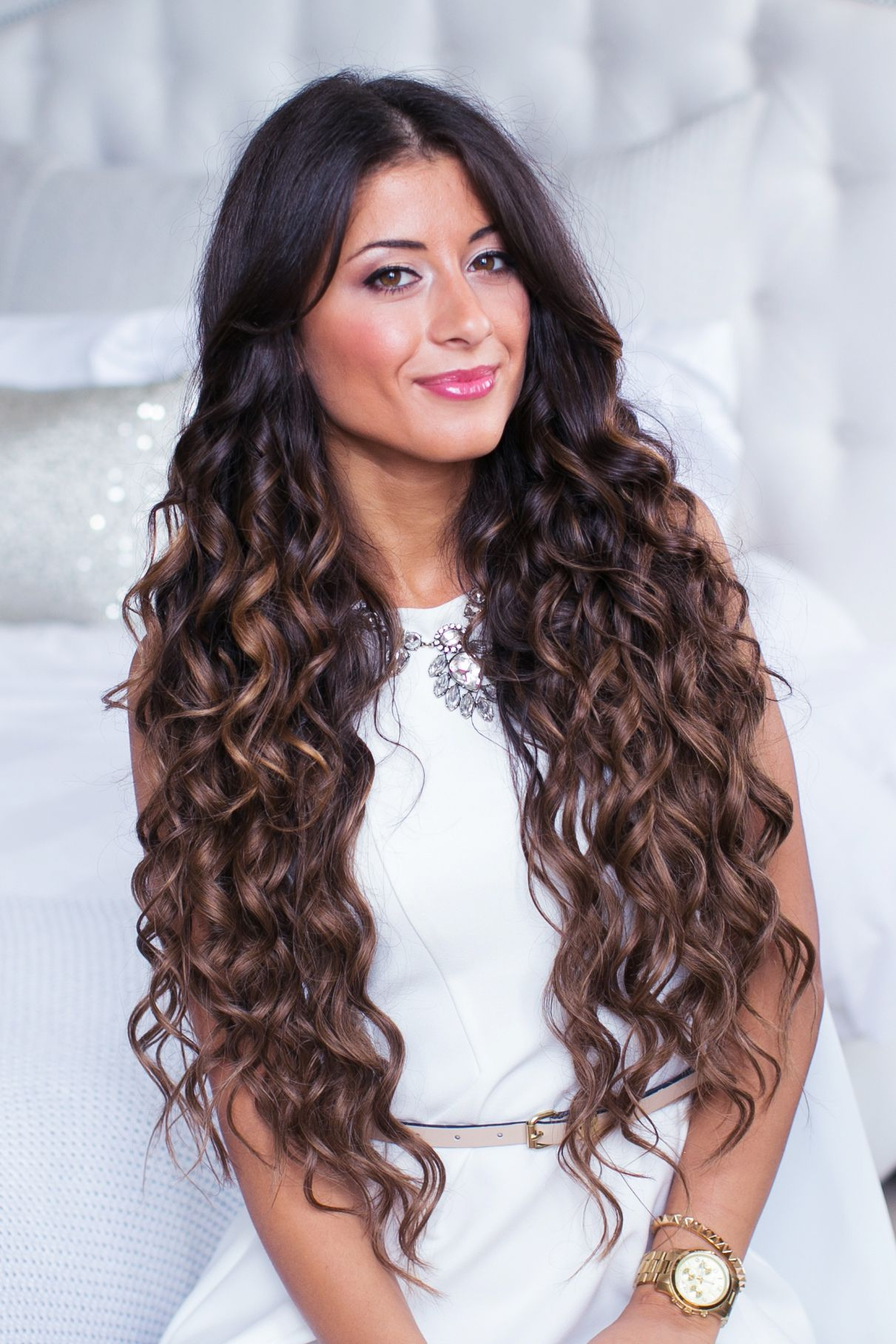 How To : Perfect Curls | Curls for long hair, Luxy hair, Perfect ...