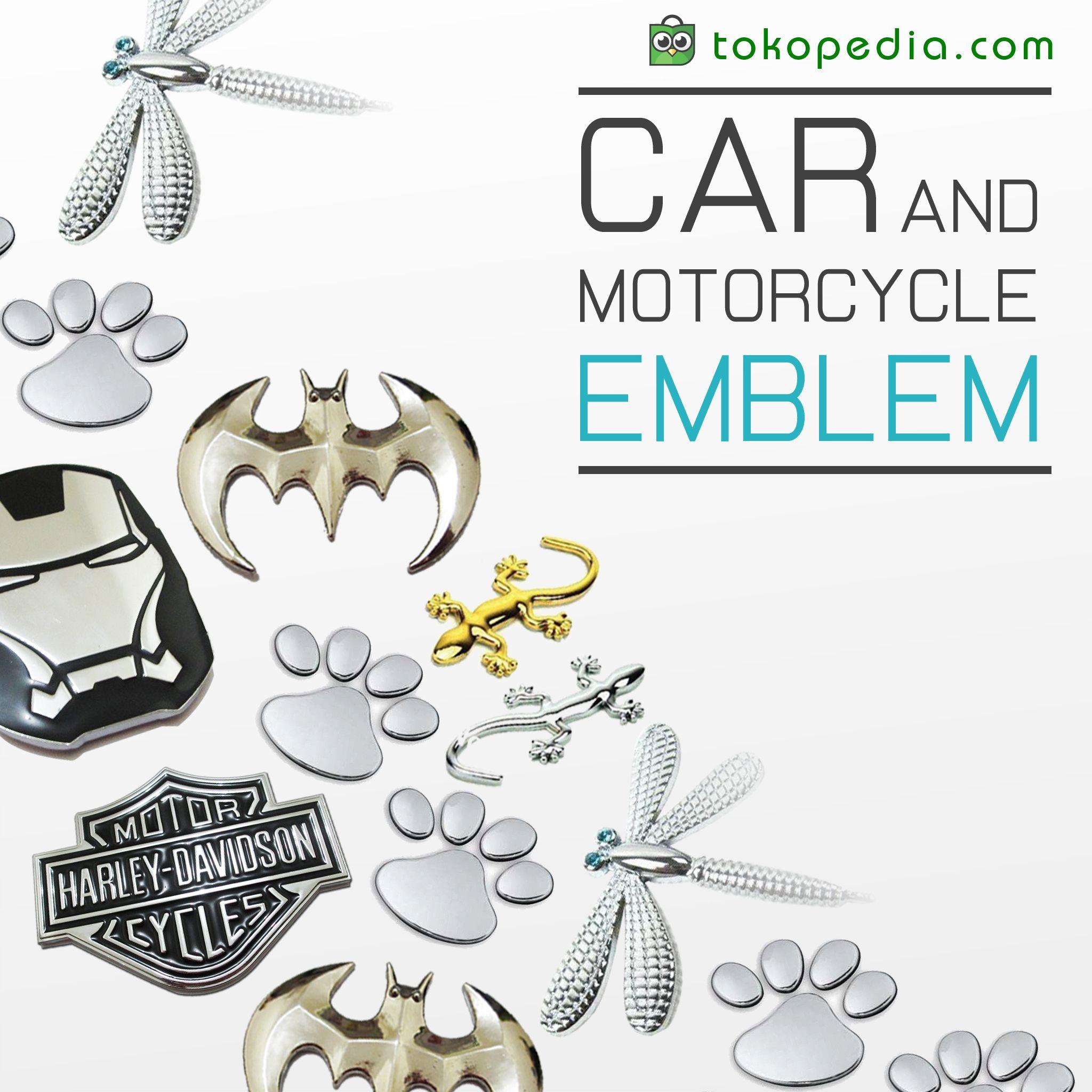 Butuh Emblem Yang Gagah Berani Dan Keren Untuk Mobil Dan Motor Kesayangan Kamu Tempel Emblem Atau Sticker Ga Akan Berasa Sama Kalo Kamu Perasaan Mobil Produk