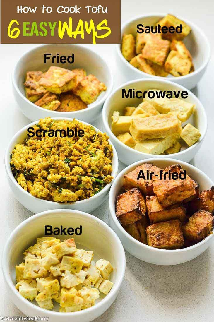 How To Cook Tofu - Six Easy Ways images