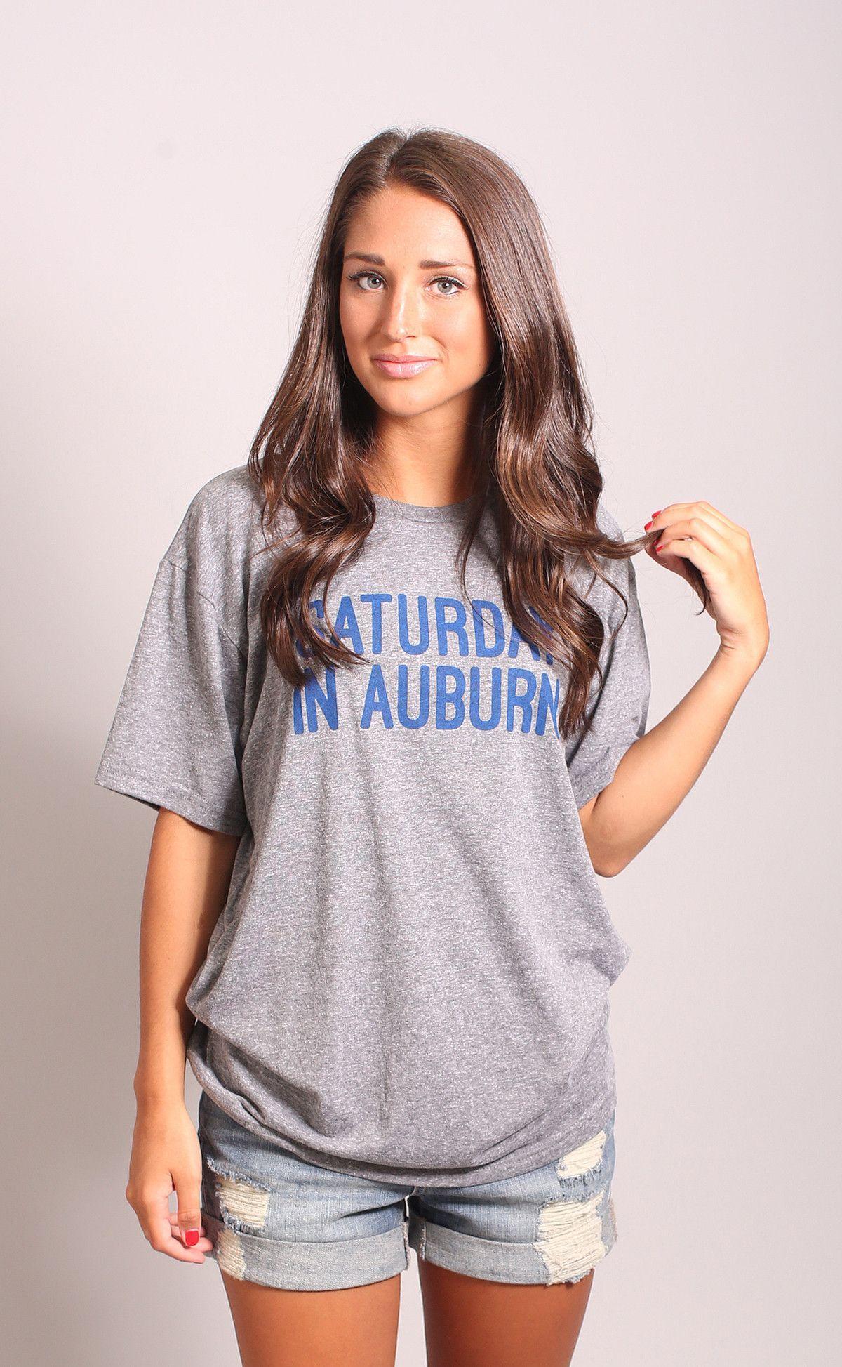 1098acff charlie southern: saturday in auburn t shirt | GAMEDAY | Auburn t ...