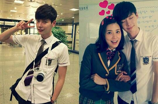 Lee Jong Suk and Lee Bo Young. I Hear Your Voice 2013