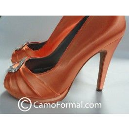 Dyeable Shoes with Camouflage Shoe Clip. Shoes can be dyed to match ...