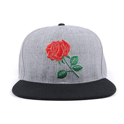 657b107d4 Rose Flat Bill Snapback in 2019 | Oak's Aesthetic and Vibe ...