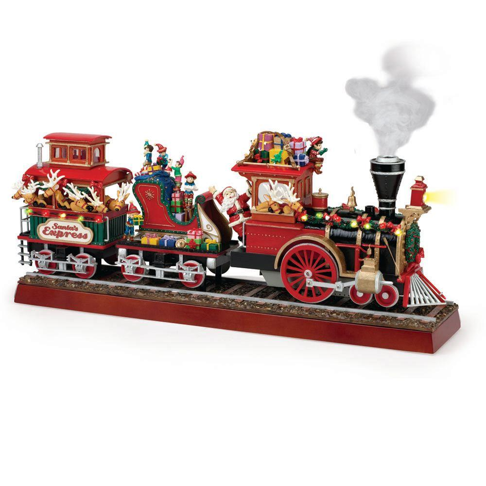 Christmas Train.Mr Christmas 16 38 In Santa S Express Train Products In