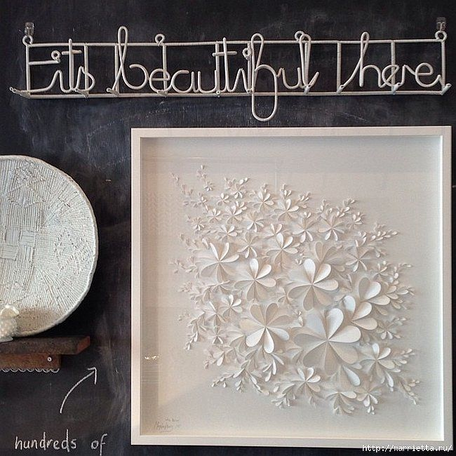 Delightful DIY Paper Flower Wall Art - Free Guide and Templates - free white paper templates