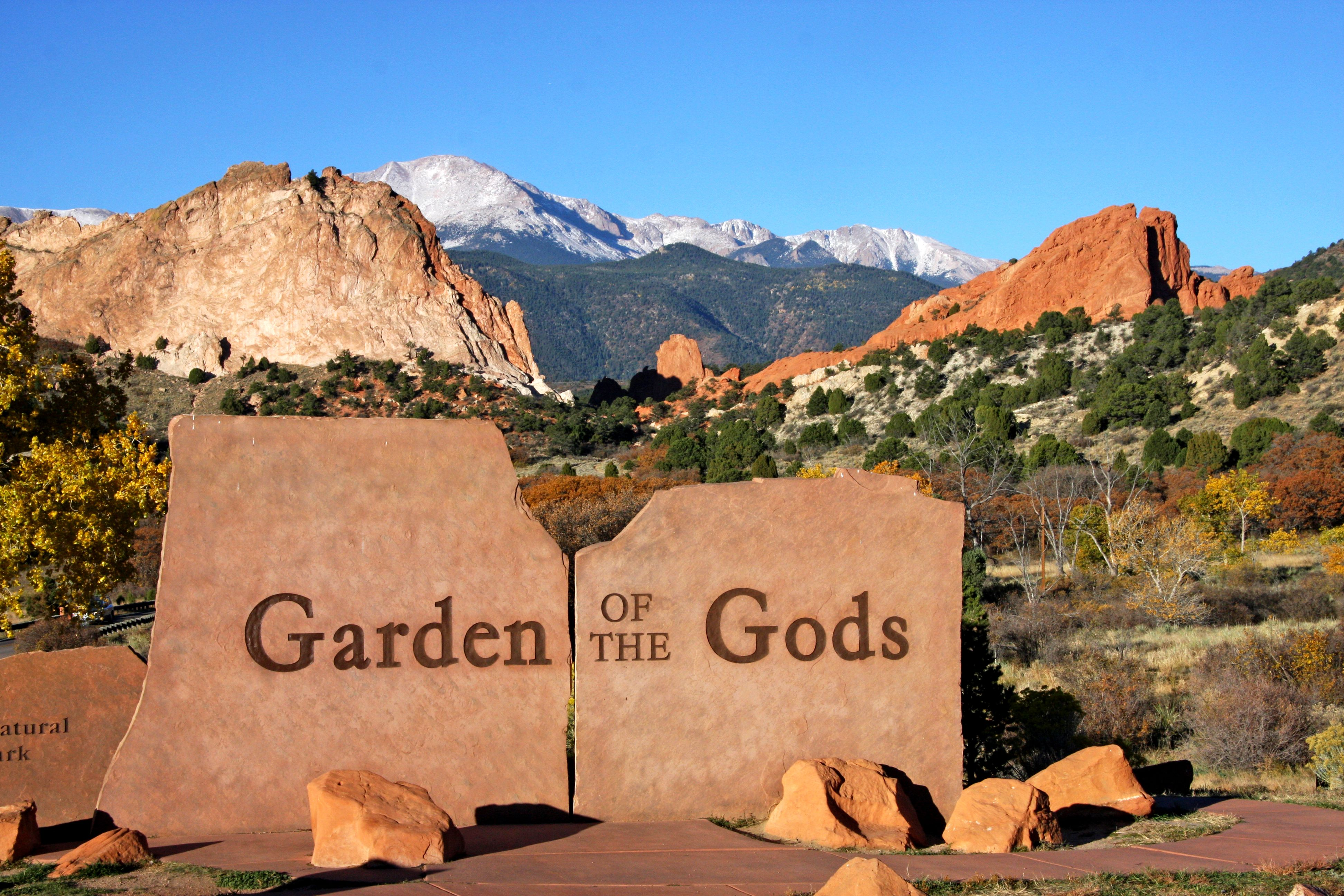 Garden Of The Gods Colorado Springs Co >> Take An Insta Worthy Pic In Front Of The Garden Of The Gods