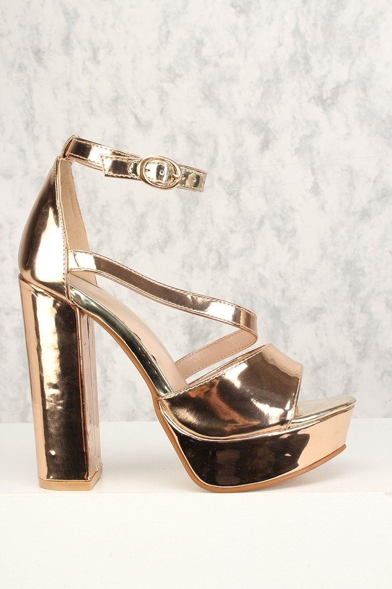 Pin on Rose gold heels