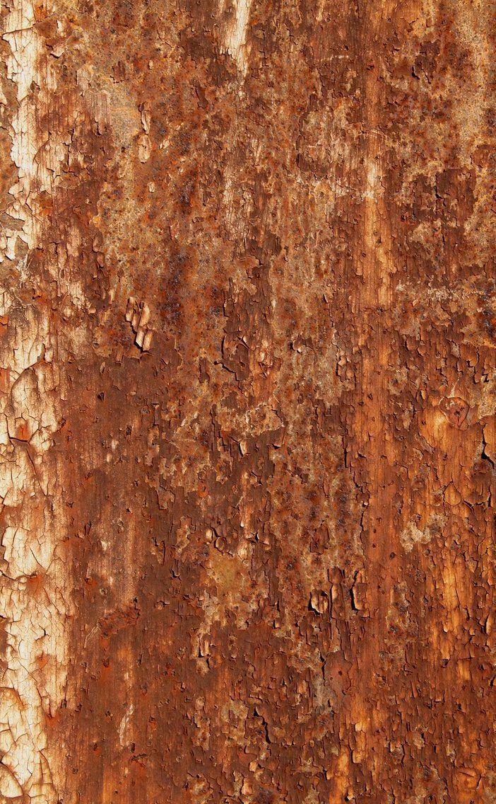 Flaky Rust Apple Wallpaper Orange Wallpaper Bronze