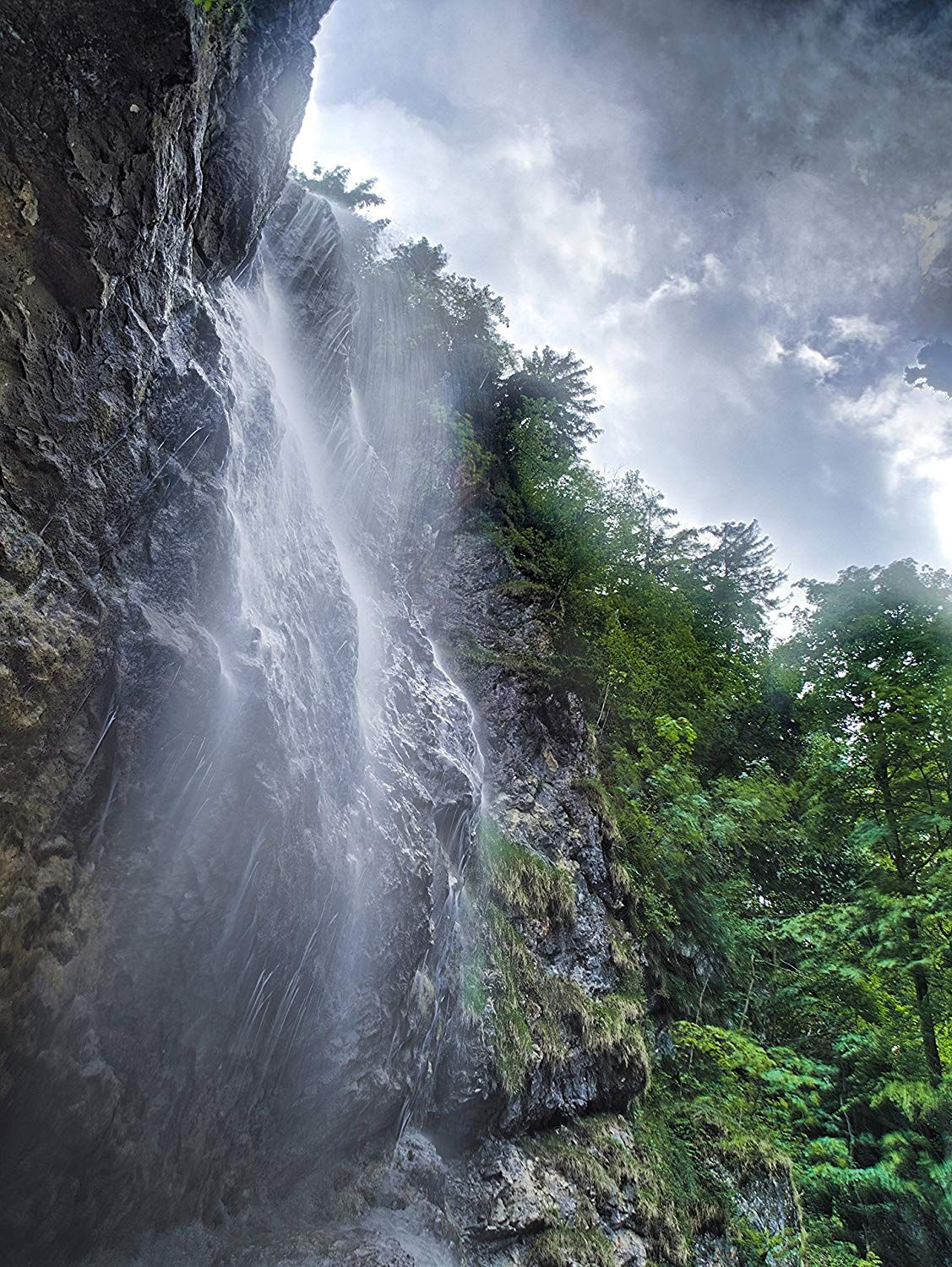 Waterfall Paper Print Strong Extreme Picture Professional Photography Print Hdr Nature W Waterfall Travel Around The World Professional Photography Printing