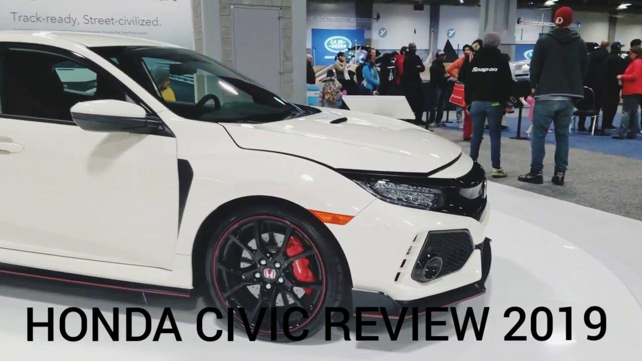 Honda Civic TypeR Car Review 2019 Honda civic type r