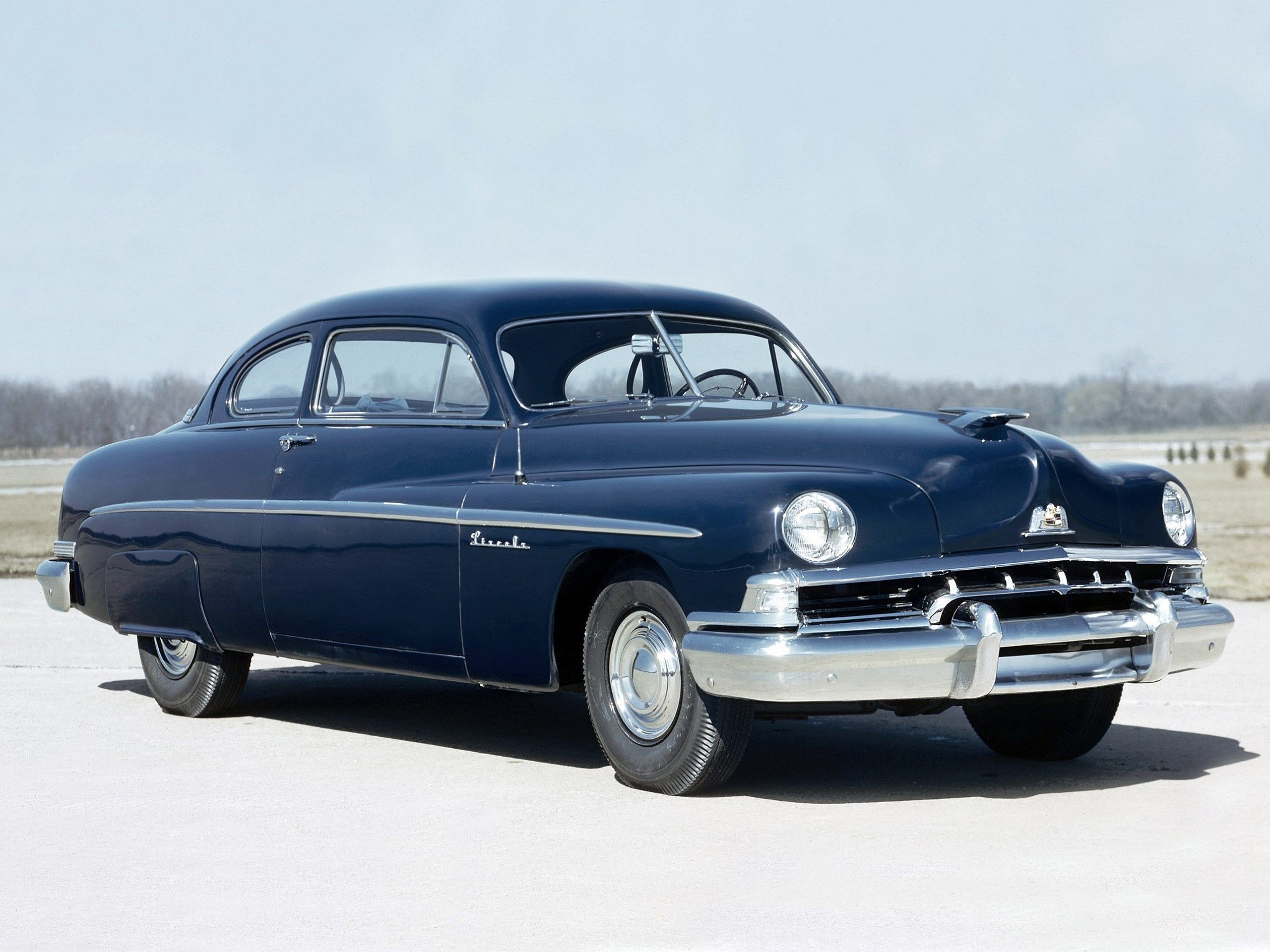 Pictures for Desktop 1951 lincoln 6 passenger coupe
