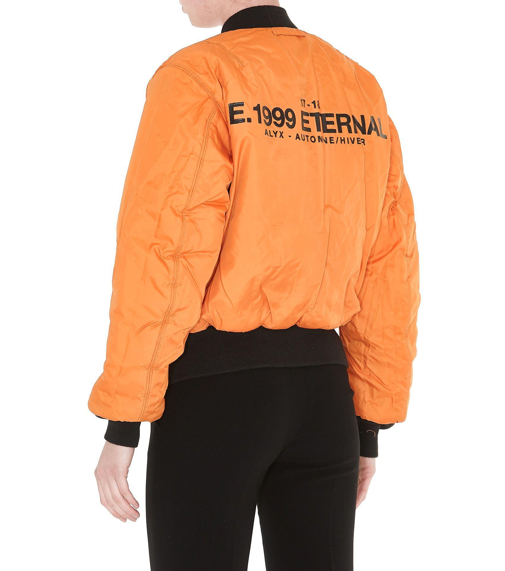 Alyx 1999 Eternal Reversible Bomber Jacket Alyx Cloth Bomber Jacket Bomber Jacket Women Jackets [ 1920 x 1699 Pixel ]