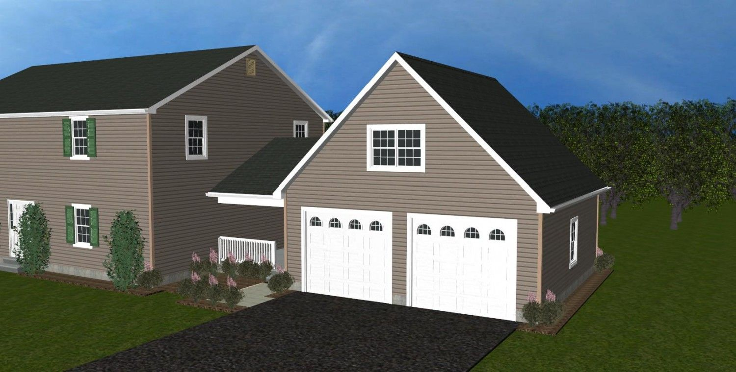 Complete 24x24 Shed Plans Free Attached Garage Plans Garage Plans Garage House Plans