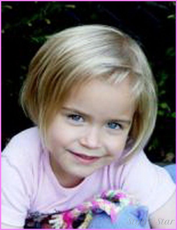 Nice Short Little Girls Haircut Stars Style Pinterest Girl - Hairstyle for short hair little girl