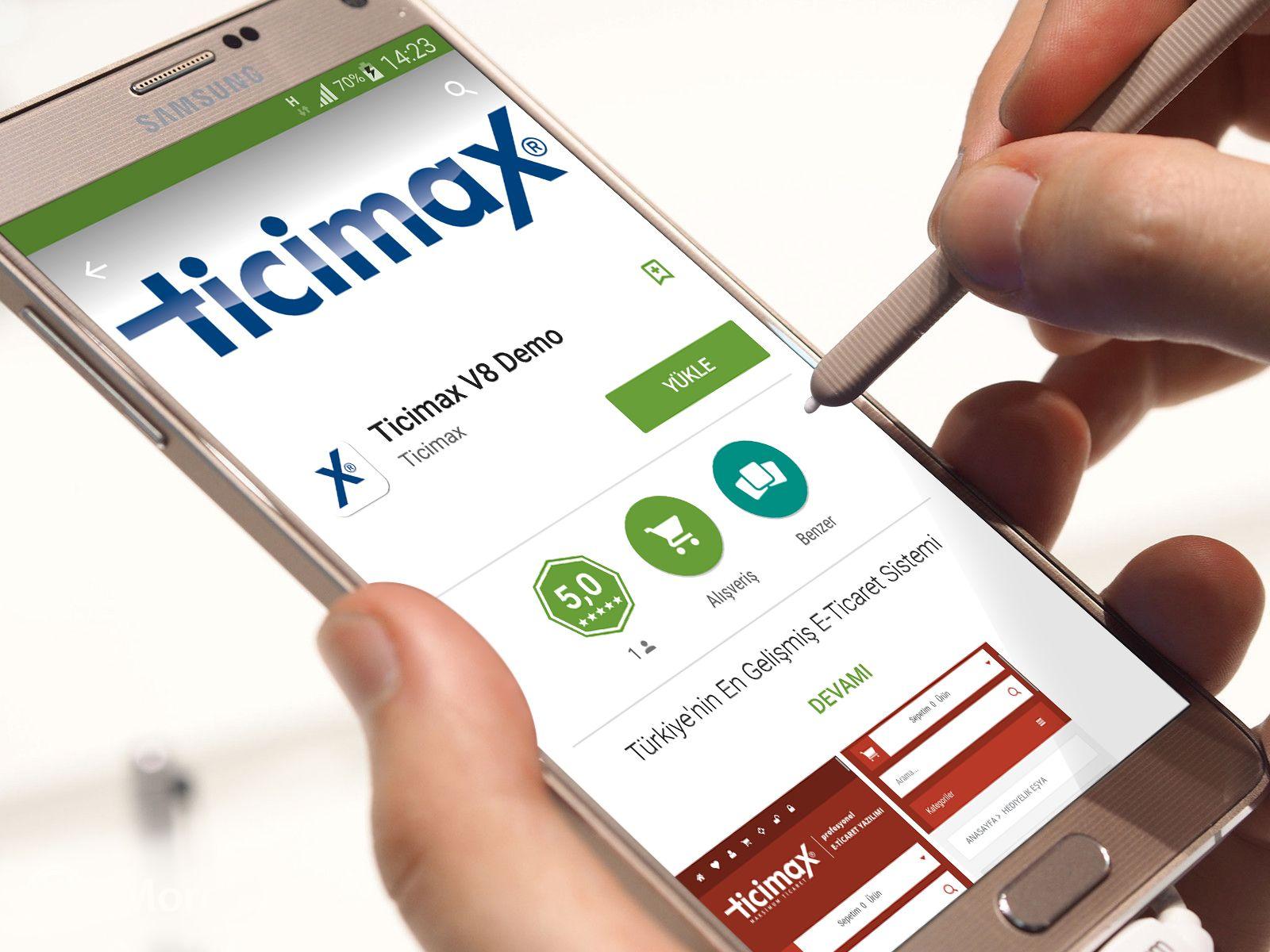 Mobil uygulamamız ile ücretsiz test etme imkanı bir tık ötenizde! https://www.ticimax.com  #eticaret #sanalmağaza #eticaretsitesi #onlinesatış #ecommerce #mobilticaret #satışsitesi #ticimax