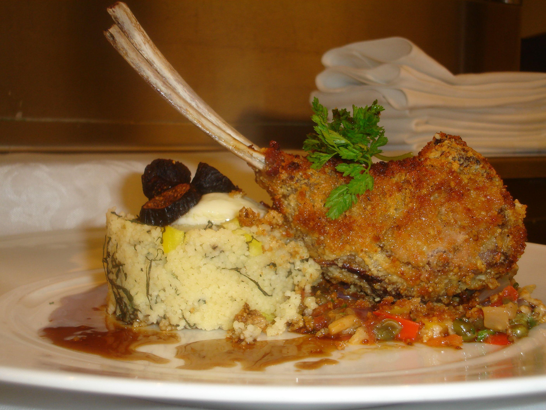 Smoked pinenut crusted rack of lamb | CARNES | Pinterest