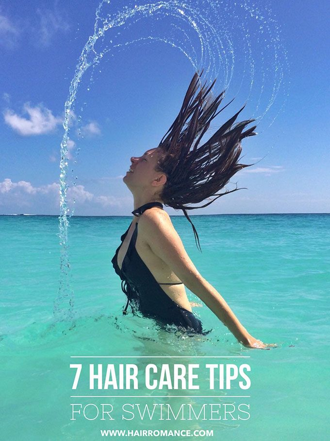 7 Hair Care Tips For Swimmers Hair Romance Summer Hair Care Swimmers Hair Swim Hair Care
