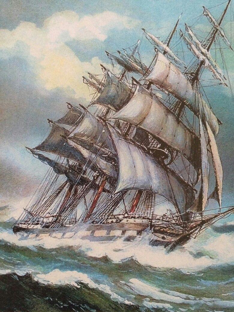 Love This Picture   Sailing art, Ship art, Sailing ships