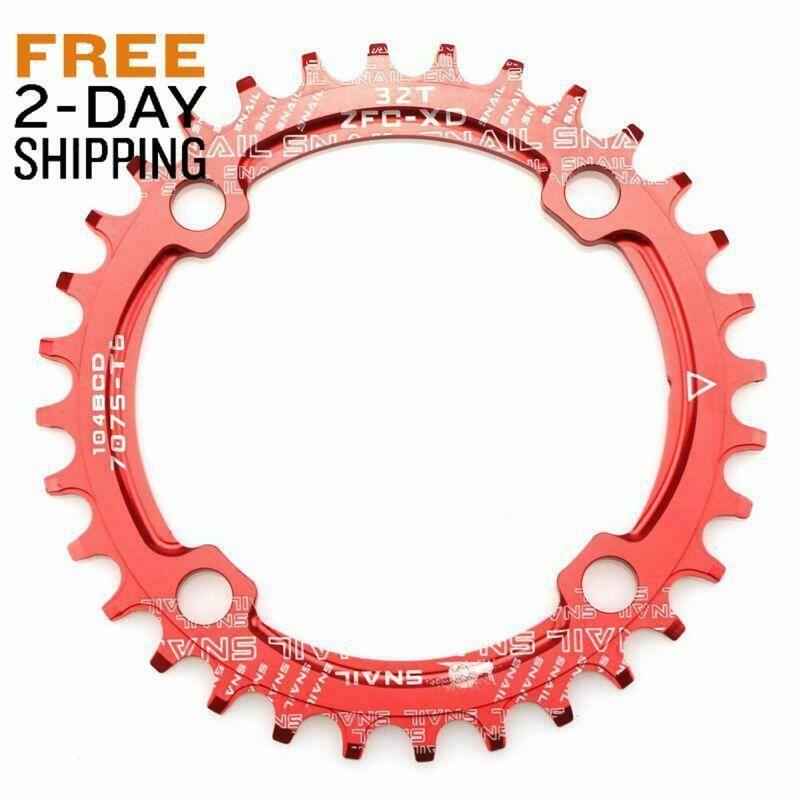 Light Small Universal Bike Cycling Single Double Gear Chainring Fixed Bolt Alloy