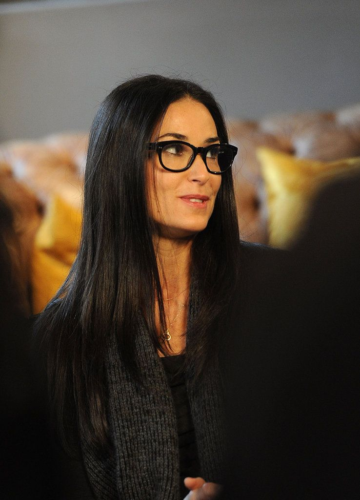 Davis Vision - Demi Moore is chic in her spectacles.