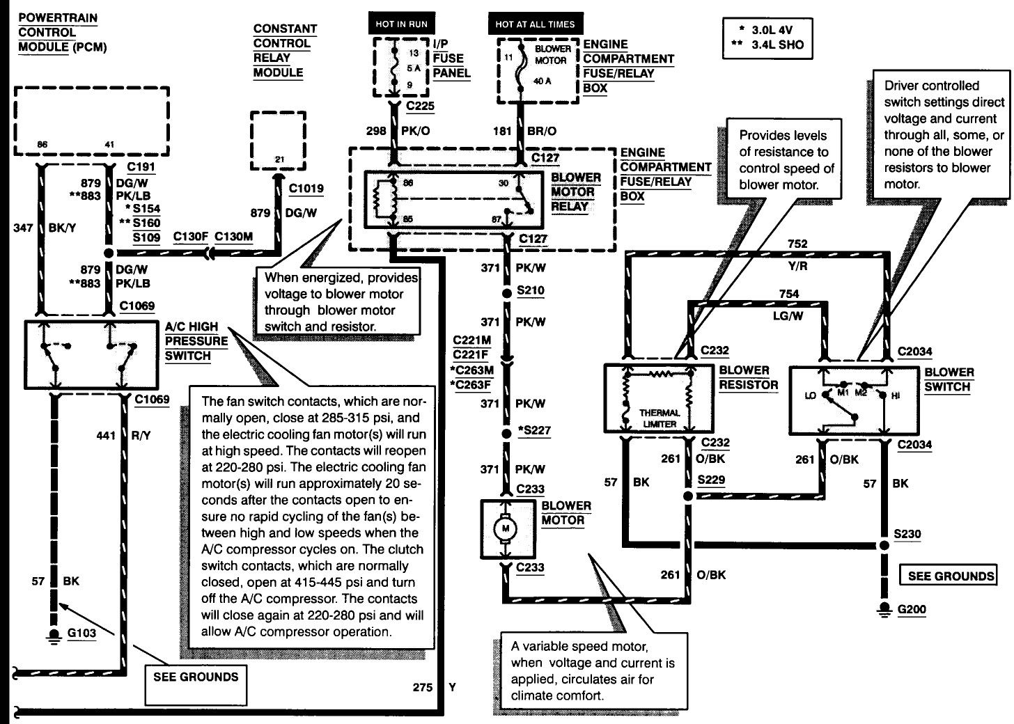 2003 Ford Mustang Wiring Diagram. 2003 ford taurus wiring