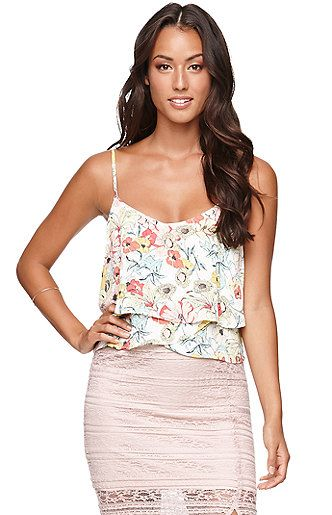 Tiered Strappy Cami