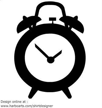 alarm clock vector clock pinterest alarm clocks rh pinterest com alarm clock vector png alarm clock vector freepik
