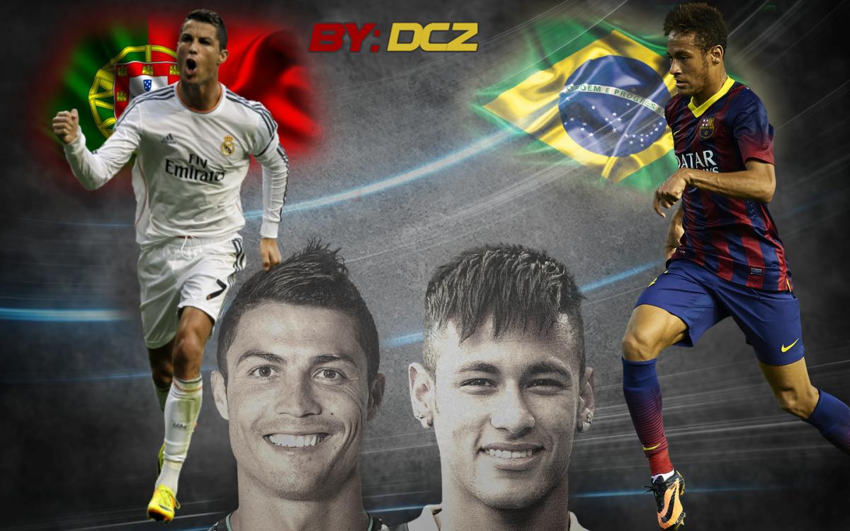 Ronaldo Vs Neymar Wallpaper 2016 Ronaldo Messi Vs Ronaldo