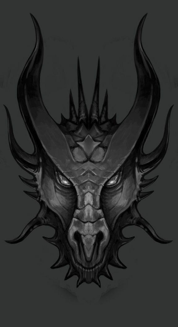dragon head sketch artist lawrence mann idk in 2018