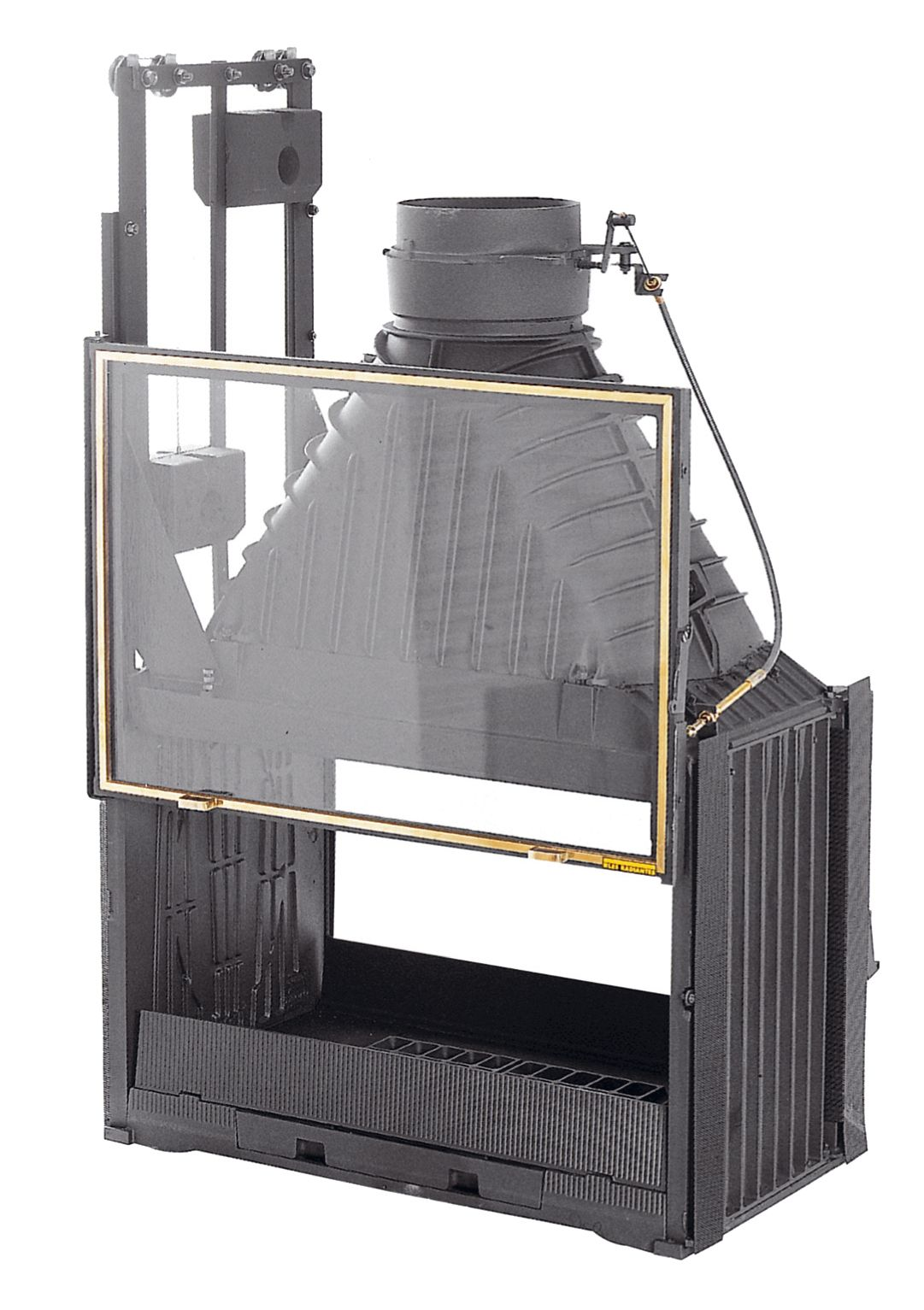 Double Sided Cast Iron Slow Combustion Open Fireplace By Cheminees