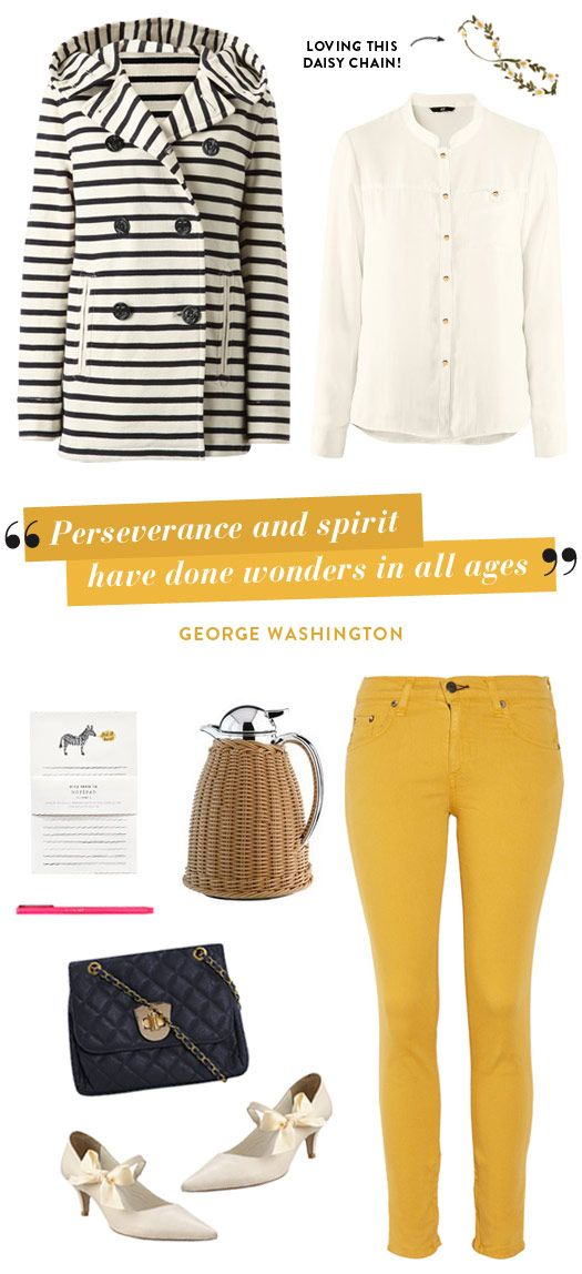 """Perseverance and spirit have done wonders in all ages."" -George Washington"