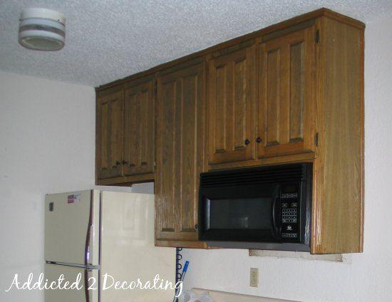Turn Raised Panel Cabinet Doors Into Recessed Panel Doors Doors