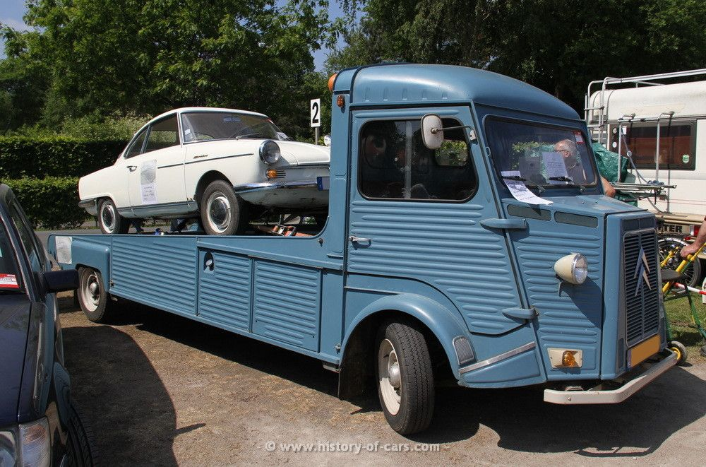 Citroen H van car transporter