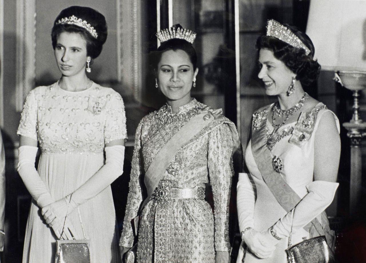 Princess Anne and Queen Elizabeth II of the United Kingdom