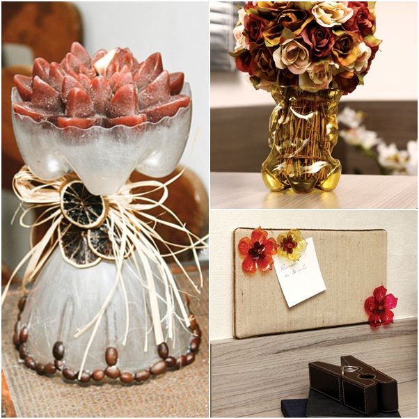 Crafting Ideas For Home Decor decorating 3 Easy Craft Ideas For Recycling Plastic Bottles In The Home Decor