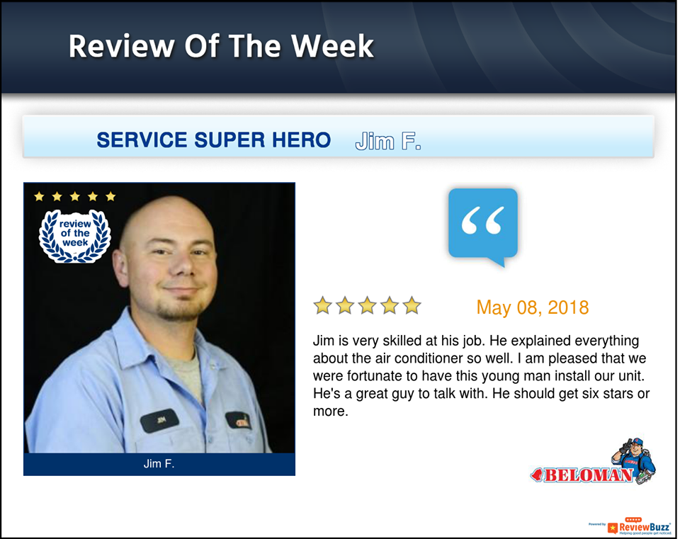 Review Of The Week Belleville Heating And Cooling The Unit