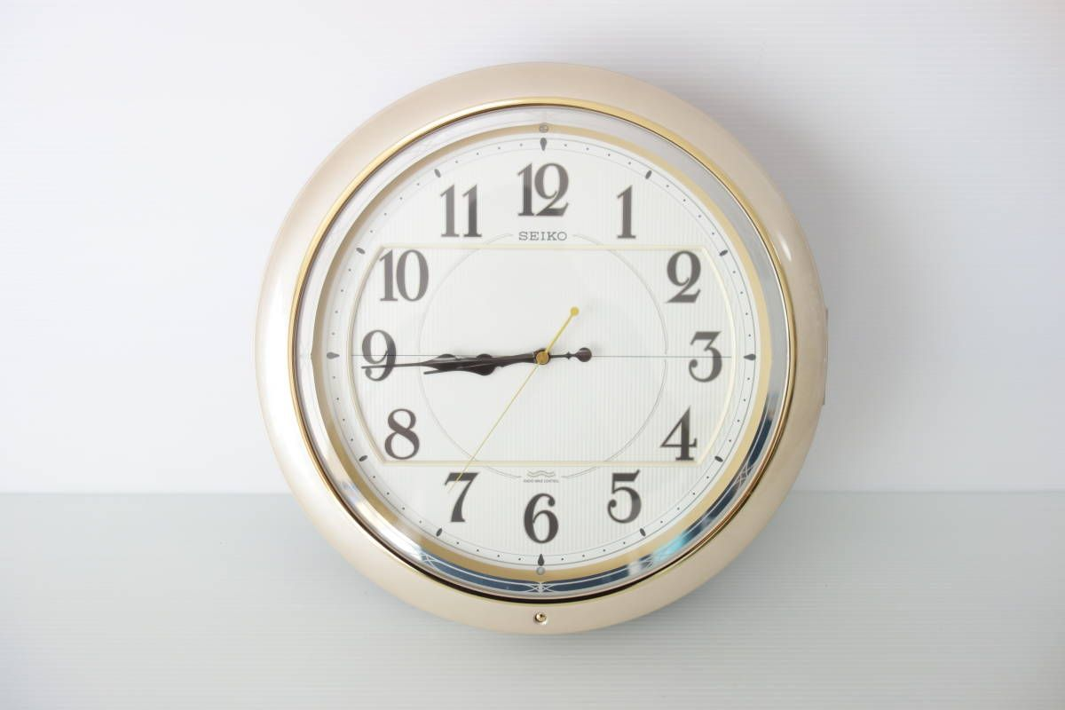 Seiko セイコー 壁掛け からくり時計 Re811p アナログ 売買されたオークション情報 Yahooの商品情報をアーカイブ公開 オークファン Aucfan Com からくり時計 時計 オーク